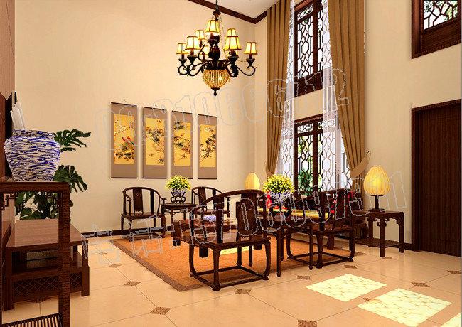 中式餐厅设计,中式设计效果图,中式装修,套房 别墅,,.