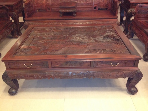 老挝大红酸枝沙发,交趾黄檀沙发,老红木沙发,大 ...