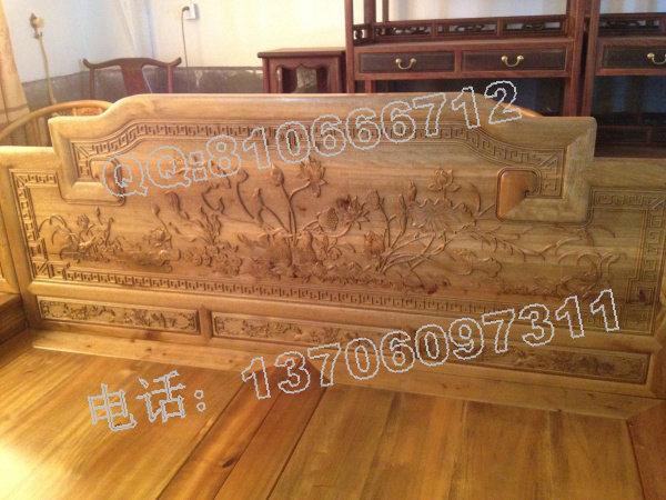 金丝楠木1米2大床家具价格