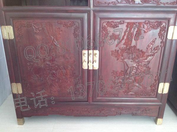 小叶紫檀书柜