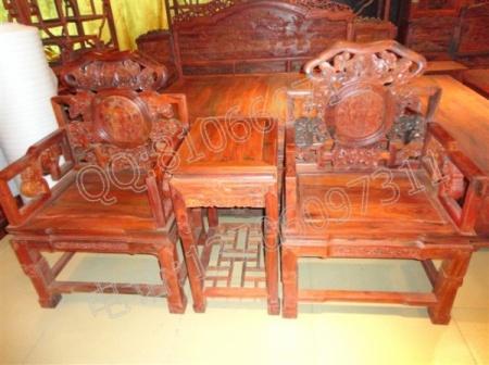 老挝大红酸枝宝座,交趾黄檀宝座,老红木吉祥如意宝座