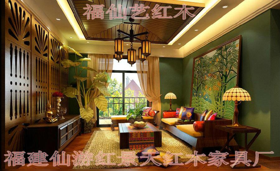 东南亚风格式家具不属于一种创新的主流家具