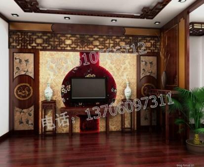 酒店客厅红木古典家具