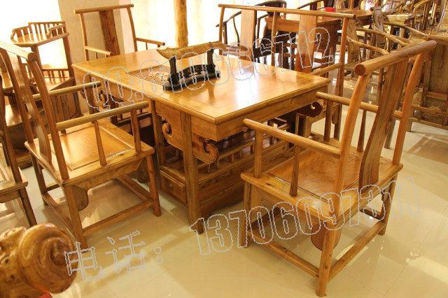 厂生产金丝楠木茶桌