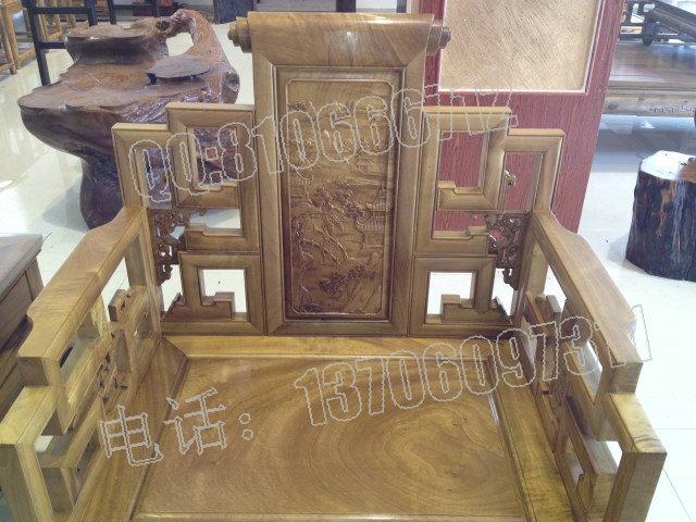 金丝楠木独板沙发图片,仿古家具图片