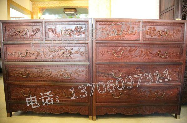 红木五斗柜,红木五斗柜价格,红木五斗柜图片