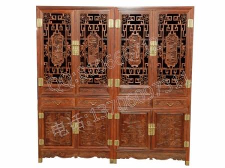 红酸枝书柜