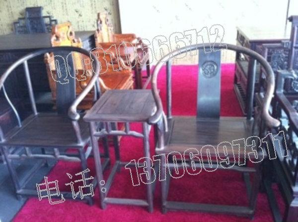 大叶紫檀圈椅