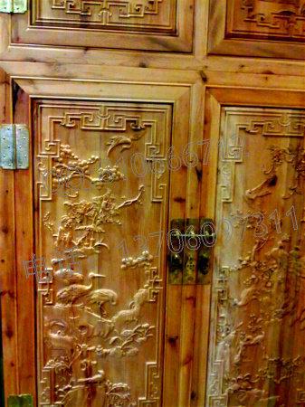 红豆杉顶箱柜