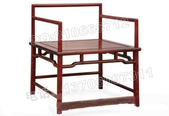 老挝大红酸枝禅椅