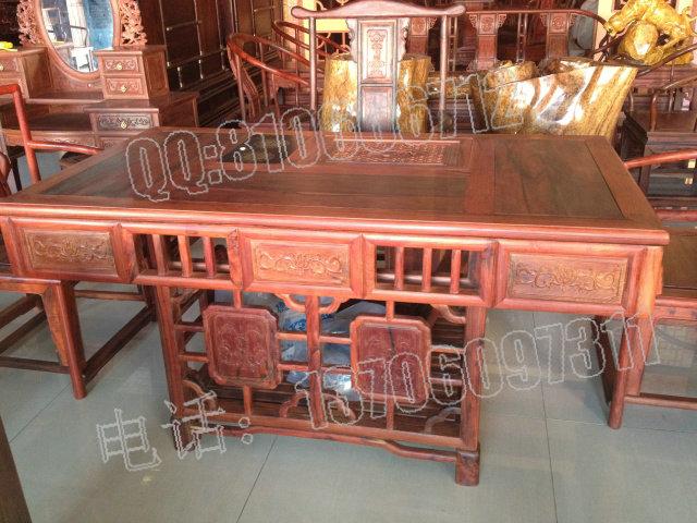 老挝大红酸枝泡茶桌
