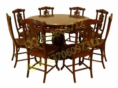 :网站首页>>餐厅红木家具>>圆形餐桌